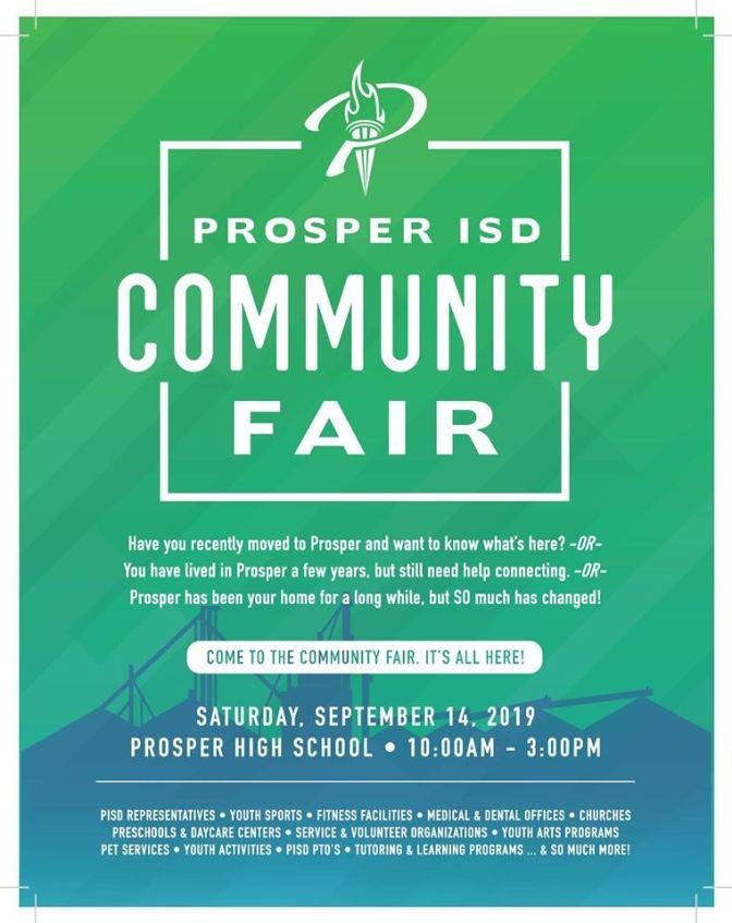 2019 Community Fair